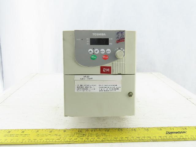 Toshiba VFS9-4015PL-WN 3Ph 280/500V Input 3Ph 2Hp 0.5/400Hz Inverter Drive