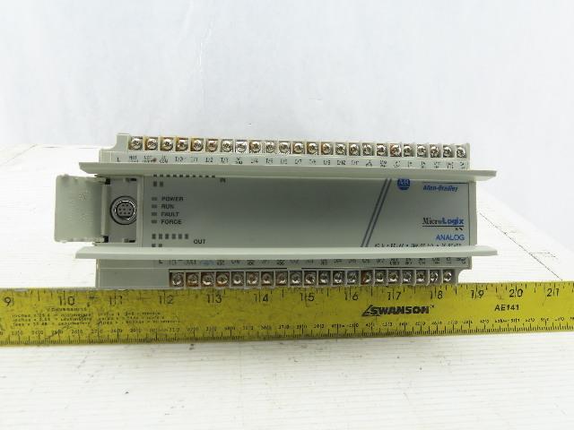 Allen Bradley 1761-L20AWA-5A MicroLogix 1000 Ser A FRN 1.0 Analog I/O PLC