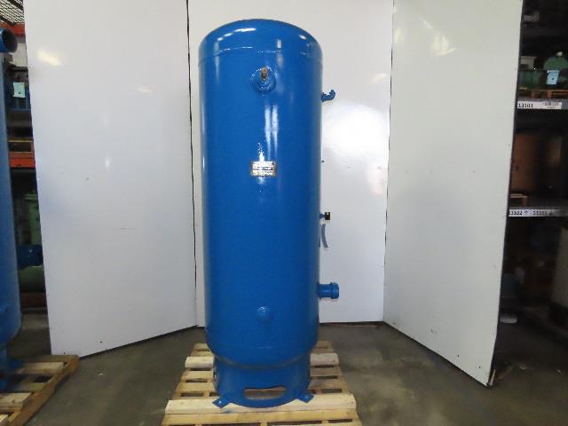 Gardner Denver 68F33 320 Gallon Vertical Compressed Air Receiver Tank 150 PSI