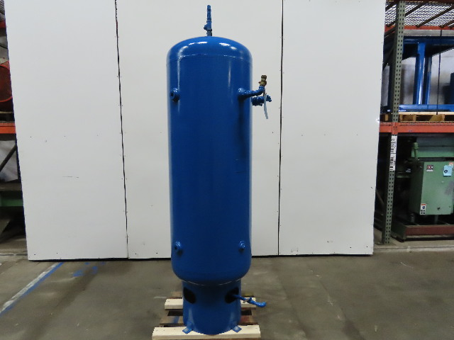 Brunner ENG 150 Gallon Vertical Compressed Air Receiver Storage Tank 150 PSI