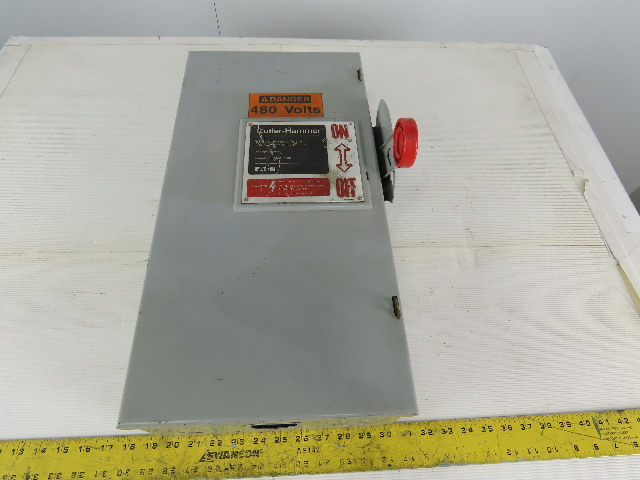 Cutler Hammer DH363UGK 100A 600V Type 1 Non Fused Disconnect Switch