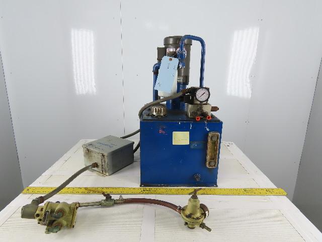 Monarch Dynamatic 12USG 208-230/460V 3Ph 1/2Hp Compact Hydraulic Power Unit