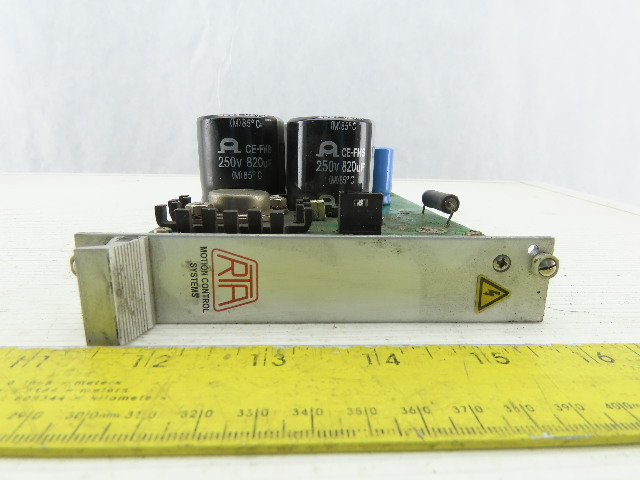 Motion Control Systems RTA Pavia PS06 Stepper Drive Automated Control Board