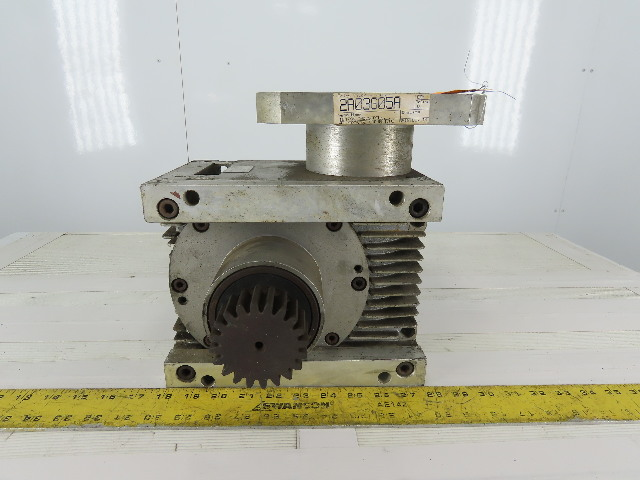 GUEL 409000/8.00 Type AE090/L Worm Gear Reducer 8:1 Ratio