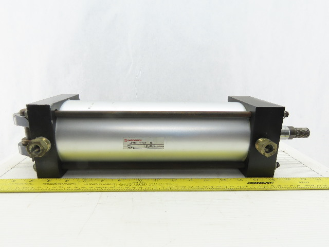 "Norgren A1233B1 4"" Bore x 10"" Stroke Double Acting Air Cylinder 250 PSI"