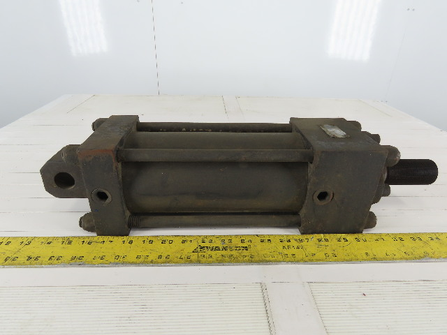 """Dubric Hydraulic Tie Rod Cylinder 4"""" Bore 6"""" Stroke Double Acting"""