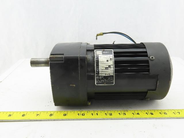 Bodine 42R5BFSI-E3 115V 1Ph 60:1 Ratio 28 RPM Output Gear Motor