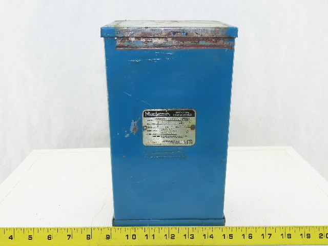 Jefferson Electric 211-091 2KVA Dry Type Transformer 240/480HV 120/240LV 1Ph