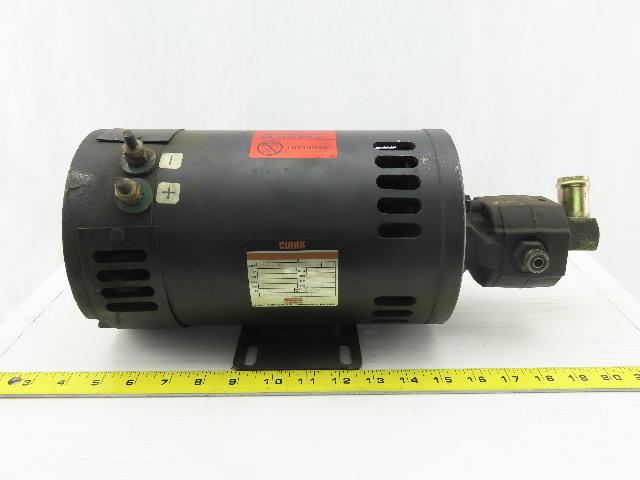 Clark D-562271X8783 36VDC Electric Motor W/1495 John Barns Hydraulic Pump