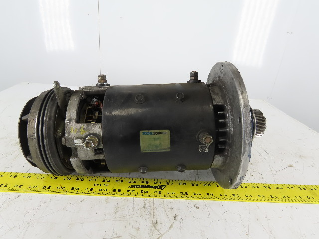 36VDC Electric Motor From a NPR 22 Type E Clark Forklift