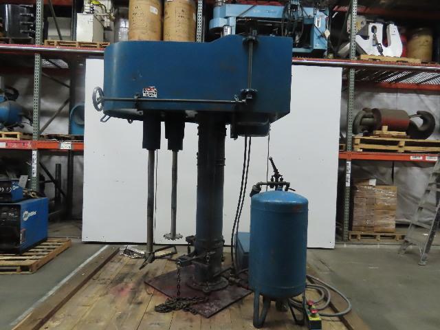 Dantco HSL-30V-20V Post Mounted Multi Shaft Mixer 460V 3Ph