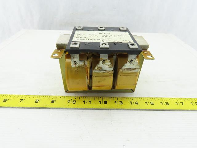 Fanuc  A81L-0001-0096 Pertronics Line Reactor .25 MH 63 A