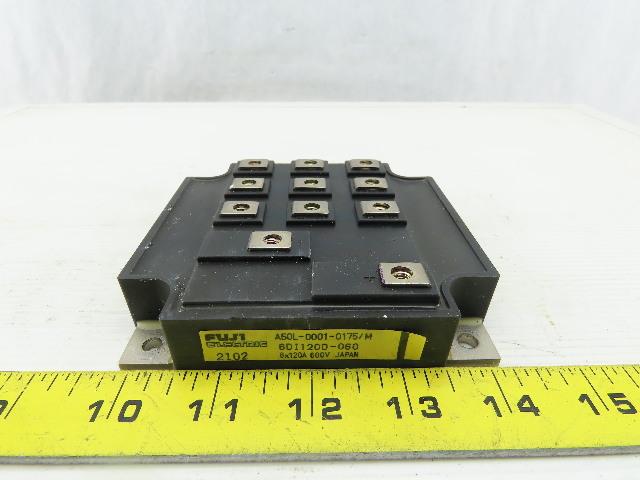 Fuji Electric A50L-0001-0175/M POWER MODULE 6x120A 600V