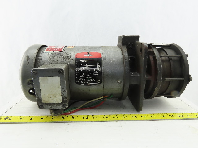 Gusher MSC3.5-3-100FJ 1Hp Vertical Coolant Pump 208-230/460V 3Ph