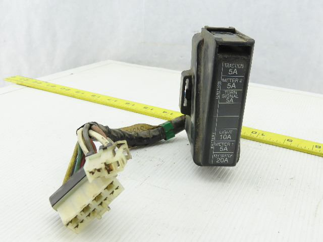 nissan forklift fuse box nissan 24010 1k000 fuse box holder panel wire harness from a  fuse box holder panel wire harness