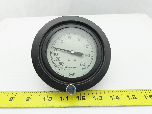 Joy Compressor A-213382-2 Intercooler Gauge 0-60PSI