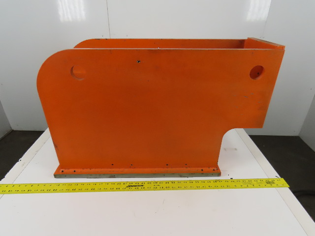 Steel Welded Right Angle Plate Machine Mounting Bracket 34-1/2x12-3/4x21""