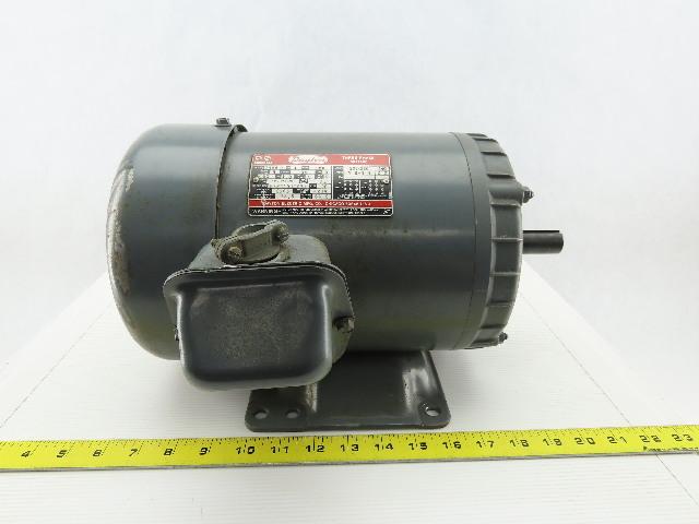 Dayton 2N941H 1Hp 1150RPM 184 Frame 208-230/460V 3Ph TEFC Electric AC Motor