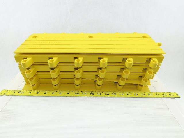 Wearwell 560.78x6x18YL-CS10 Ergodeck Safety Mat Ramp Lot of 9