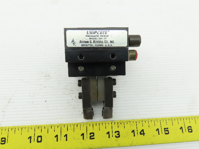 UniPlace DP-2F Double Acting Parallel Pneumatic Pickup Gripper