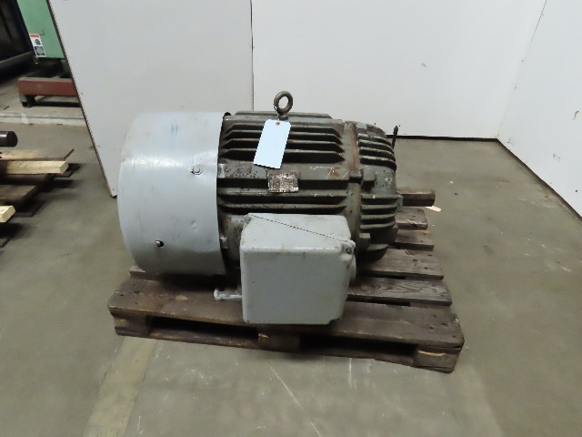Howell 100Hp 1775RPM 3Ph 230/460V C445UB Foundry Duty Electric AC Motor