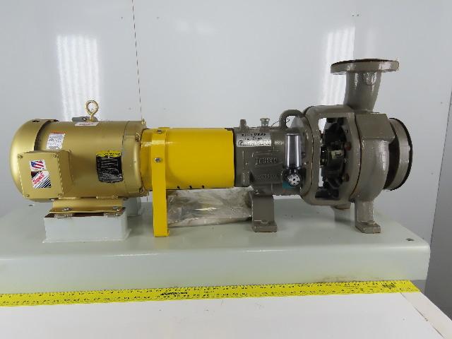 "Flowserve 2K4X3-62RVK 10Hp 3490RPM 208-230/460V 4x3"" Centrifugal Pump Package"