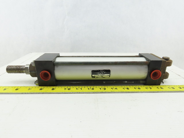"""Milwaukee Cylinder 6111-63-21S-7x7 Pneumatic Air Cylinder 7"""" Stroke 2"""" Bore"""
