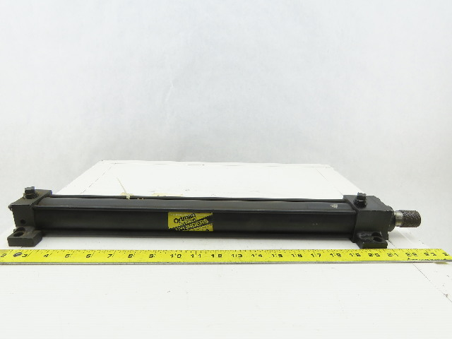 """Ortman 1-1/2"""" Bore 16"""" Stroke Double Acting Hydraulic Cylinder 1500PSI"""