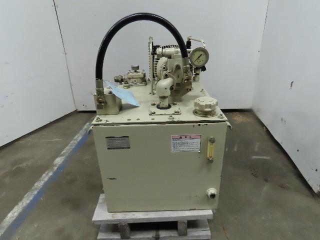 Yuken YA22-B-6-2.2-41 2.2kW 3Ph 200/220V 50/60Hz 60L Hydraulic Power Unit
