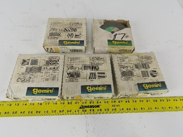 "Gemini 66252837958 6""x1""x1"" 60/80 Grit 36/46 Medium Course Grinding Wheel Lot/ 5"