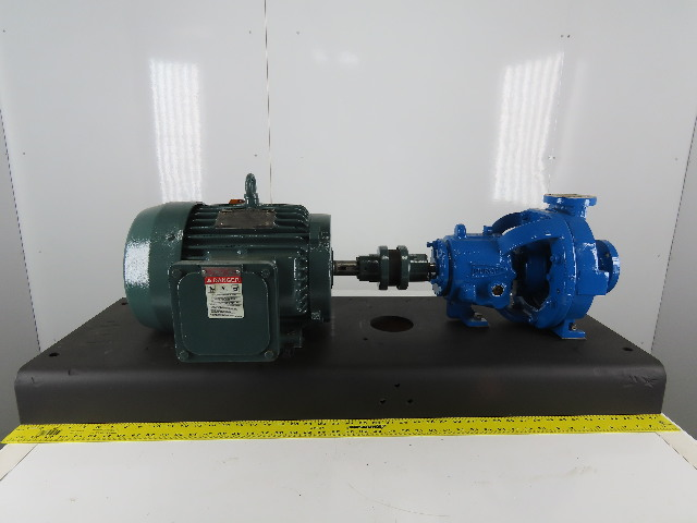 "Durco 7.5Hp 1-1/2x1"" Stainless  Centrifugal Pump Package 230/460V Ph"
