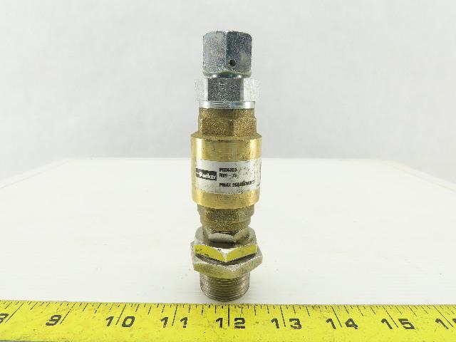 Parker RV-9-15 Brass Hydraulic Check Valve 25 bar