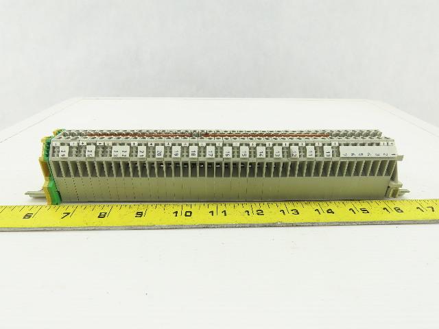 Weidmuller WK4/U Terminal Blocks 600/800V 20-10AWG White Lot of 40