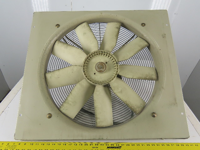 "Siemens 2CC2636-1CA9 24"" 200-230V 1100RPM 50/60Hz Low Pressure Axial Wall Fan"