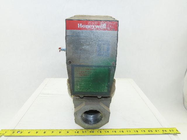 "Honeywell V-4055A-1001 Fluid Power Gas Valve 110/120V 2-1/2""NPT 26 Sec."