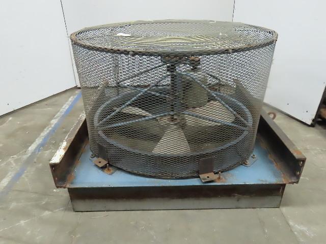 "40"" Belt Drive Exhaust Fan 3 Blade 1-1/2""Hp 230/460V 3Ph"