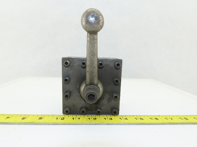 "Lathe 4 Position Quick Change Manual Tool Post Holder 4""x4"""