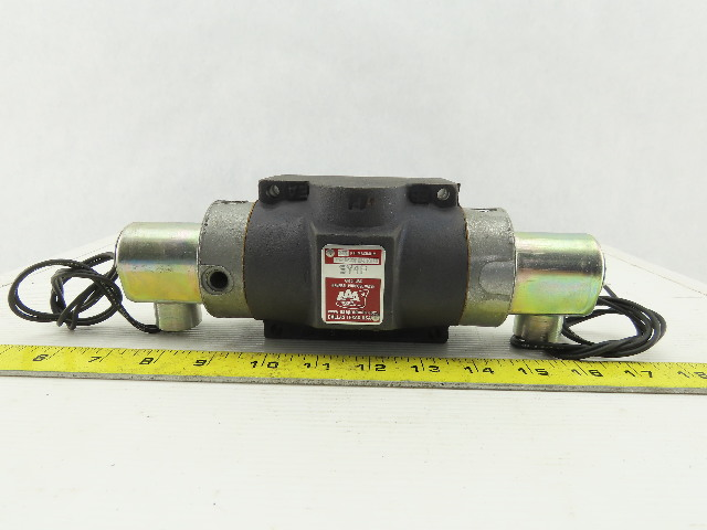 A A A SY4P 3 Position General Purpose Pneumatic Double Solenoid Valve 120V