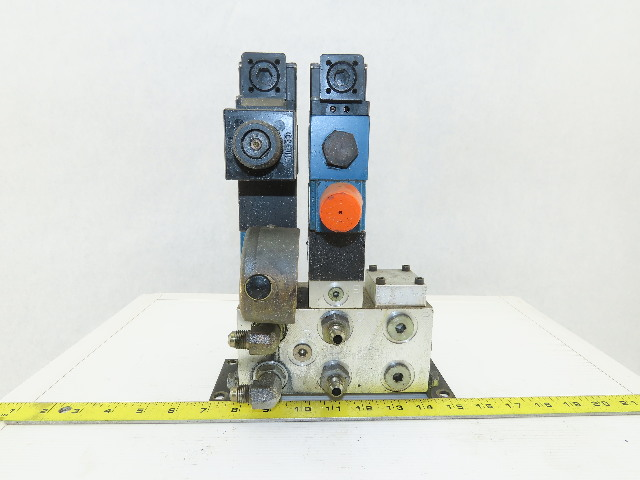 Rexroth 4WE6C61/EW110N9DK23L 4/2 Position Hydraulic Regulated Check Assembly