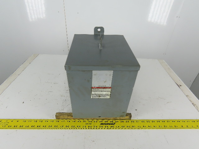 Square D 5S1F General Purpose Transformer 5Kva 240x480HV 120/240LV 1Ph
