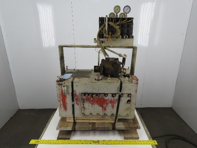 Daikin A1R-30 22 USG Hydraulic Power Unit W/ Pump Valve Bank No Motor