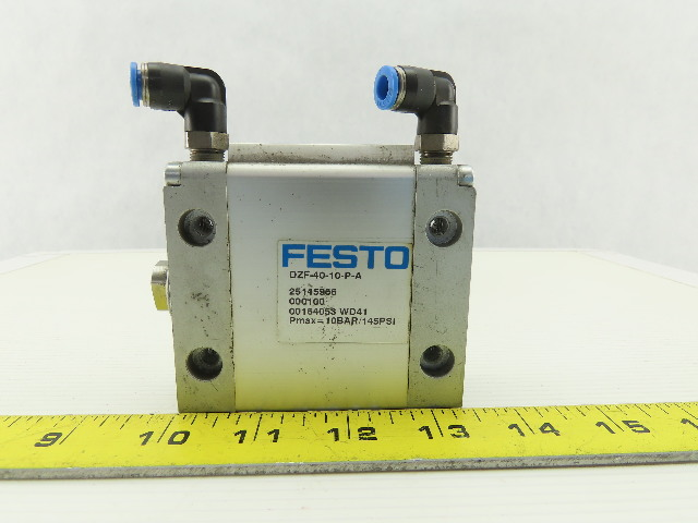 Festo 25145966 DZF-40-10-P-A Pneumatic Flat Cylinder 10 Bar