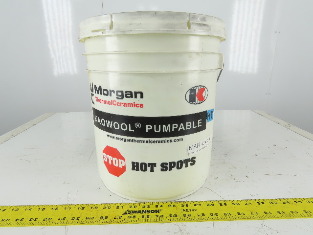 Morgan Keowool HT 5 Gal. Pumpable Mastic Thermal Refractory Ceramic Paste
