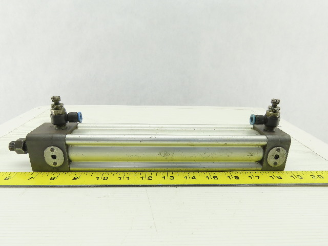 "Double Acting Pneumatic Air Cylinder 8"" Stroke 2-1/2"" Bore"