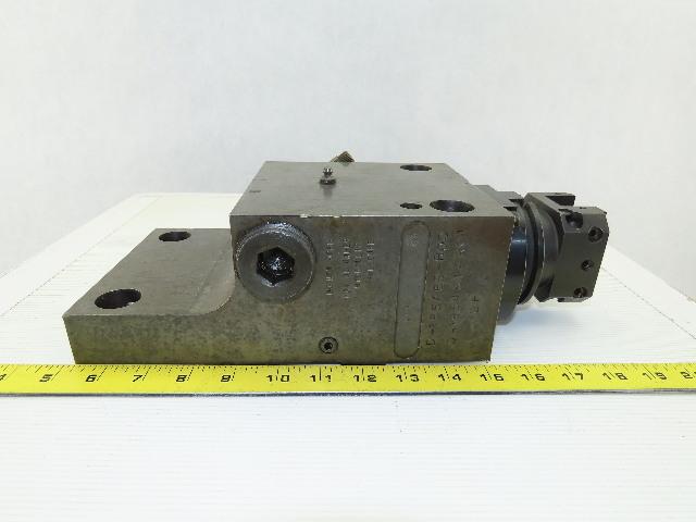 Kennametal D-185456-R00 Hybrid Turret Tool Holder Block Left Hand W/ Tooling
