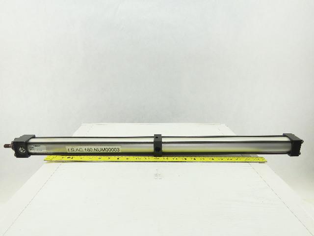 "Numatics SH-546802-1 Pneumatic Cylinder 1-1/2"" Bore 11-1/2"" Stroke Multi Retract"