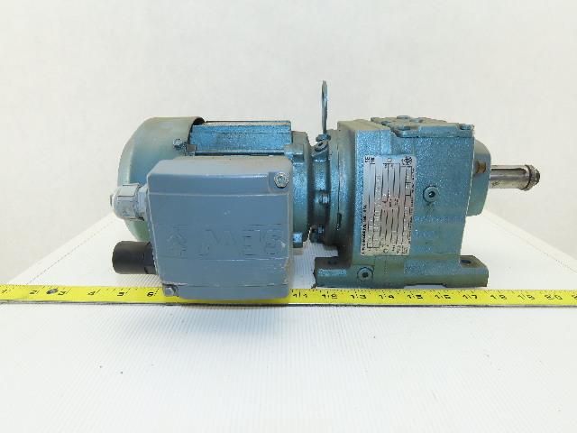 Sew Eurodrive R37DT71D4TFIS 44.8:1 Ratio 0.25kW 38RPM 277/480V Gear Motor