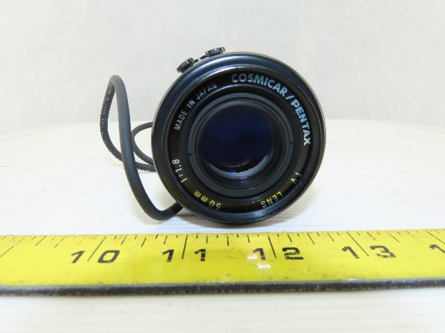 COSMICAR/PENTAX TV Lens 50mm 1:1.8