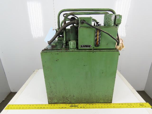 Nippon TOP-208LE Hydraulic Power Unit 0.4kW 200/220V 3Ph 27 Gallon