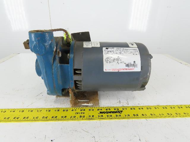 """MagneTek H446 3/4Hp 3450/2850RPM 208-230/460V 1-1/4""""x1"""" Motor Pump"""